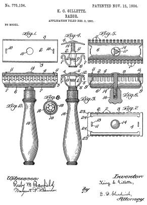 Gillette_razor_patent